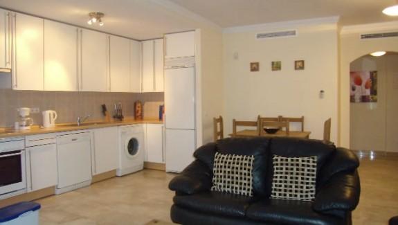 garden apartment for rent in Costa Galera -  Estepona