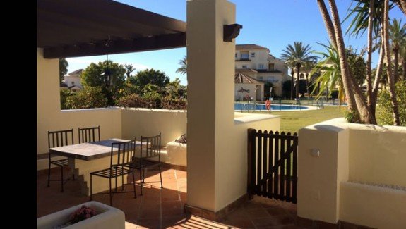 townhouse for rent San Roque Club