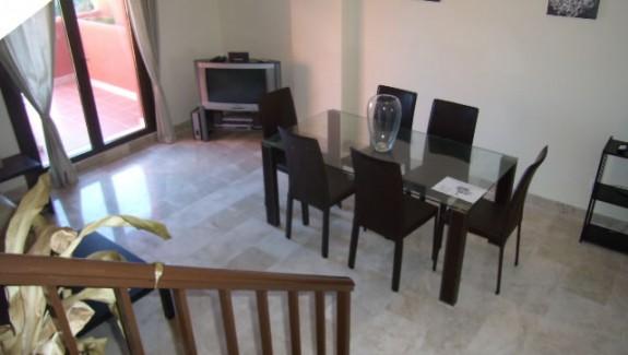 duplex apartment to let long term Costa Galera - Estepona