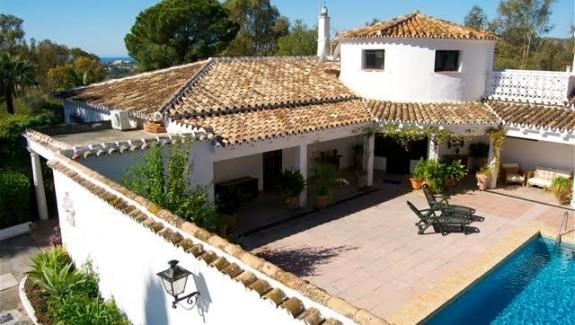 Cortijo Style Villa for Rent Benahavis