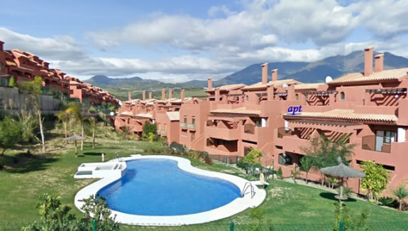 three bedroom duplex apartment for rent Costa Galera, Estepona