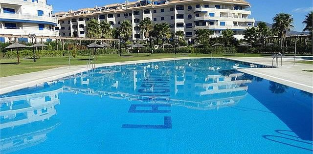 unfurnished ground floor apartment for rent at La Noria IV, Sabinillas, Manilva