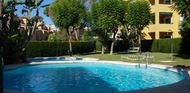 Two Bedroom Garden Apartment - Alhambra del Sol - Guadalmina Baja - For Rent