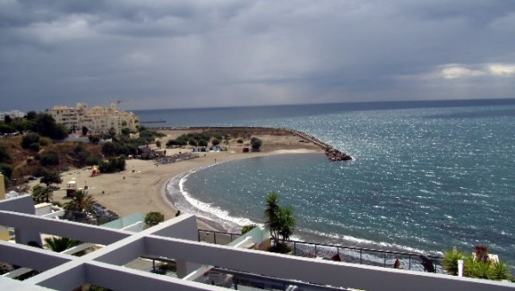 Front Line Beach Penthouse Apartment for Rent - Estepona